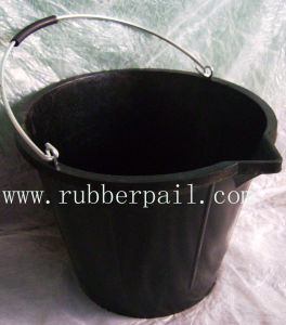 Rubber Buckets, Recycled Rubber Pail, Rubber Bucket (1422)