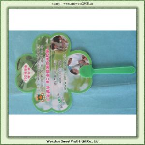 Customizable Plastic Hand Fan for Promotional Gifts pictures & photos