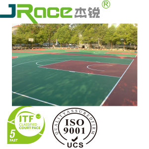 Silicon PU Anti-Slip Outdoor/Indoor Sport Surfacer pictures & photos