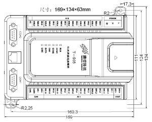 12PT100 PLC Controller T-906 Modbus RTU/TCP PLC Remote Control System pictures & photos