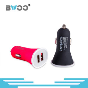Colorful Dual USB Car Charger Emergency Charger pictures & photos