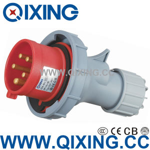 Qixing European Standard Male Industrial Plug (QX-300) pictures & photos