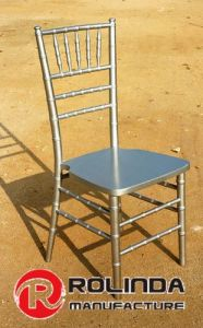 Events Decor Silver Wood Chiavari Chair Stackable pictures & photos