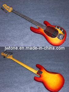 Tortoise Pickguard Cherryburst Color Electric Bass Guitar pictures & photos
