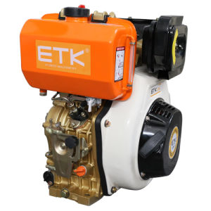 12HP Diesel Engine with CE/Golden Left Side pictures & photos