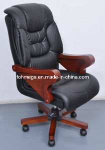 Black Leather Executive Office Chair for CEO (FOH-B8013) pictures & photos