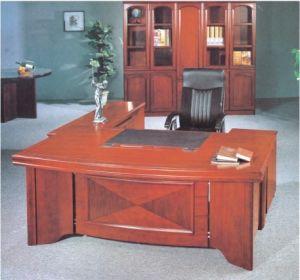 Hot Selling Model MDF Wood Modern Elegant Office Table/Desk (FEC08) pictures & photos