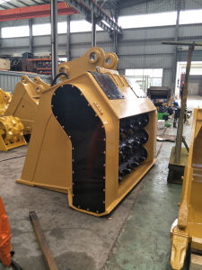 Excavator Parts of Crusher Bucket for Jcb240 pictures & photos