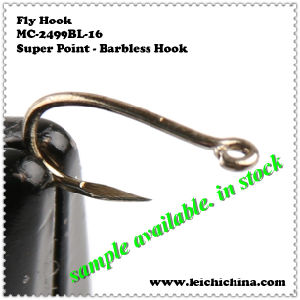 Fly Tying Hook Super Point Barbless Hook pictures & photos