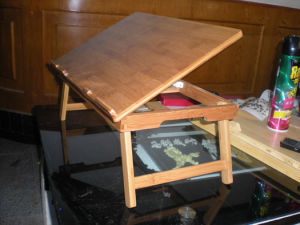 Bamboo Desk for Notebook