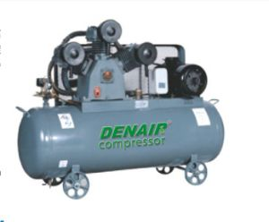 Oil- Less Mobile Piston Air Compressor with Air Tank pictures & photos