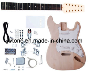 Jw-St12 Basswood 6string and 12string St Model Guitar Kit pictures & photos