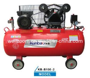 Belt-Drive Piston Type Air Compressor (KB-B100-2)