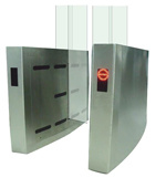 Luxury Sliding Type Turnstile for Entrance Control System
