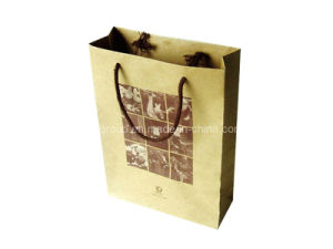 Reusable Color Printing Kraft Paper Bag (FB2002) pictures & photos
