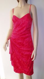 Ladies′ Silk Dress (LD-5648)