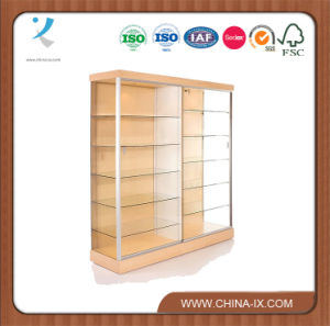 Large Trophy Display Case with Sliding Door pictures & photos