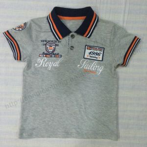 Kids Boy Polo Shirt in Children′s Wear Sq-6304 pictures & photos