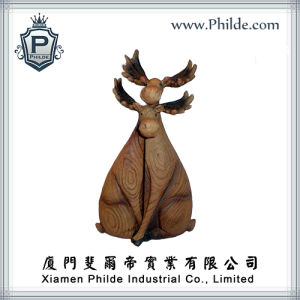Moose Home Decoration Resin Animal Figurine