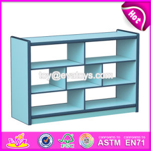 Customize Colorful Children Furniture Wooden Book Cabinet W08c190 pictures & photos