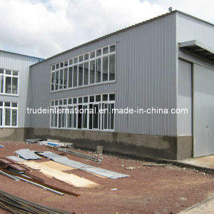 Two Floor Steel Mobile/Prefab/Modular/Prefabricated Building for Warehouse pictures & photos