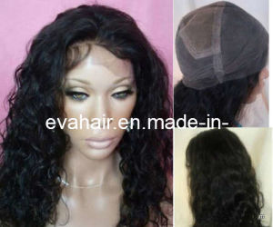 100% Indian Remy Human Hair Full Lace Wig/Lace Front Wig pictures & photos