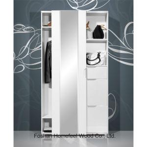 Bedroom Furniture Shoe Cabinet Sliding 1 Door Wardrobe (WB66) pictures & photos