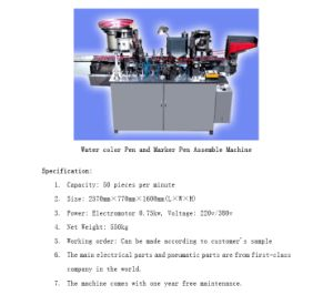 pen assembly machine