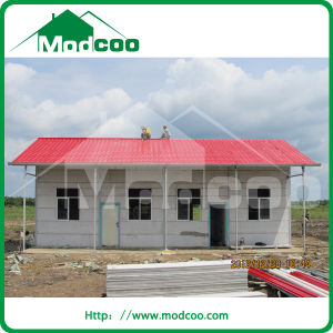 Low Cost Prefabricated Aluminium Structure House