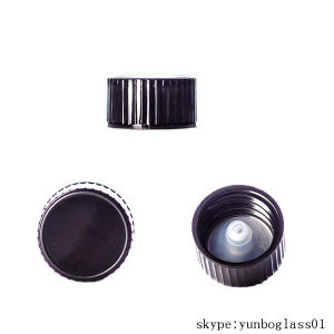 Black Phenolic 20-400 Lid with PP Polycone Liner