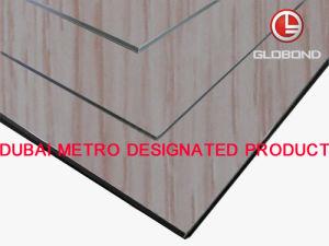GLOBOND Grainy Finish - Aluminium Composite Panels (PF-7123) pictures & photos
