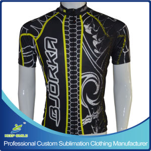 Custom Made Digital Sublimation Printing Neon Color Cycling Jersey pictures & photos