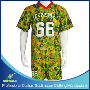 Custom Sublimation Lacrosse Sports Suit pictures & photos