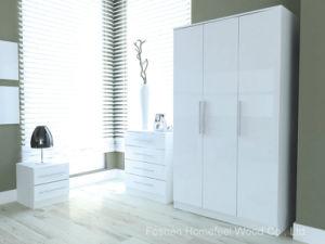 Toronto Gloss Black Bedroom Furniture Set (HF-EY080912) pictures & photos