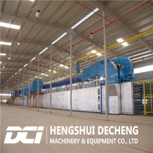 Gypsum Board Production Line Adopt Hot Air Type pictures & photos