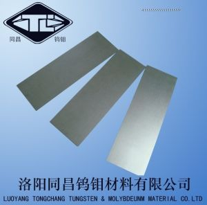 Professional Manufacturer of Cold Rolled Bright Polished Tungsten Sheet 0.1mm pictures & photos
