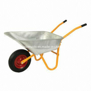 Hot Sell Galvanized Tray Wheelbarrow (WB5009A) pictures & photos