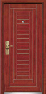 Steel Wooden Armored Door/Steel Wood Security Door (YF-G9002) pictures & photos