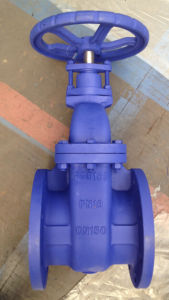 BS 5163 BB OS&Y Cast Iron Gate Valve Z41T-16, Flange End Pn16 pictures & photos