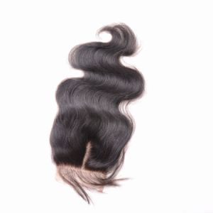 Wholesales Virgin Unprocessed Human Hair 3.5*4 Lace Closure Body Wave