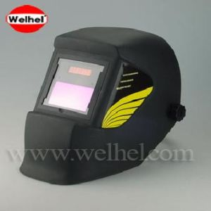 Solar Powered Auto-Darkening Welding Helmet (WH4400 Black) pictures & photos