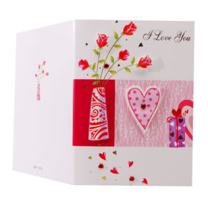 Handmade 3D Valentine′s Day Cards