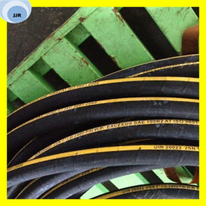 SAE 100 R2 Flexible Rubber Hose Pipe pictures & photos