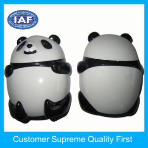 Small Child Panda Shape Plastic Manual Pencil Sharpeners pictures & photos