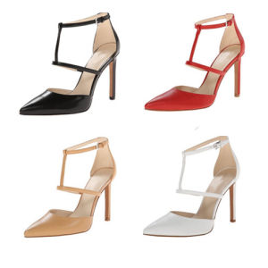 2016 New Design Fashion High Heel Pointy Toe Lady Dress Shoes (S25) pictures & photos