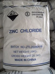 MOQ: 5mt 96%, 98% Zinc Chloride pictures & photos