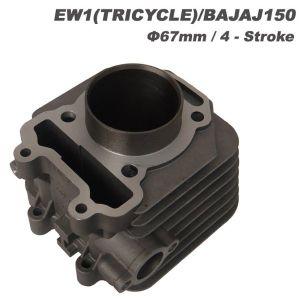 Motorcycle Model Bajaj150 Cylinder Complete