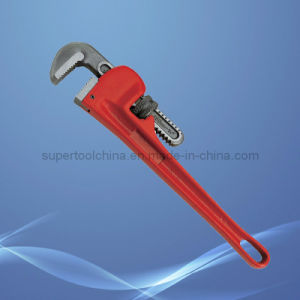 Designed for Heavy Work Adjustable Pipe Wrench pictures & photos