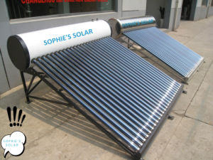 High Pressure Solar Energy Water Heating pictures & photos