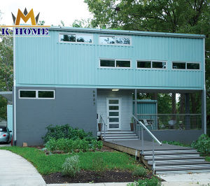 Movable Steel Frame Container House Prefabricated House pictures & photos